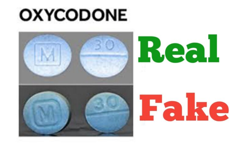How to Spot Fake Oxycodone M 30 Pills