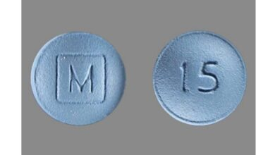 What Blue Pill Has M On One Side And 15 On The Other