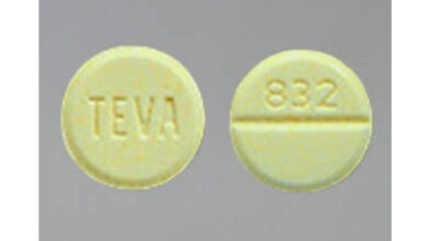 What Does The TEVA 832 Yellow Pill Contain