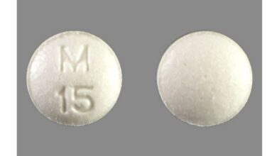 What Kind Of Pill is White with M 15 On One Side