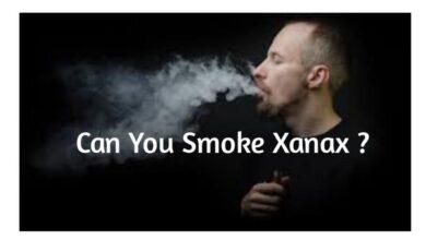Can You Smoke Xanax