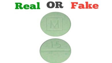 How To Spot A Fake M 15 Green Pill Fake