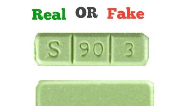 How To Spot Fake Green Xanax Bars S 90 3