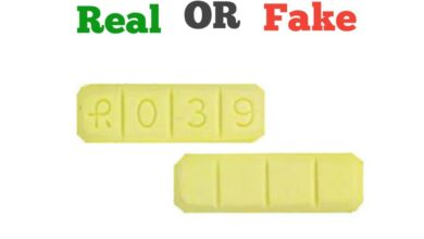 Fake Yellow Xanax Bars R039