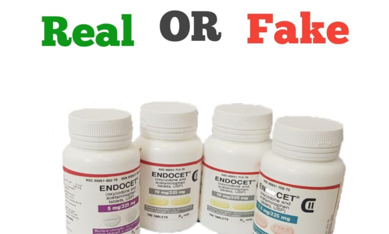 How to Spot Fake Endocet Pills