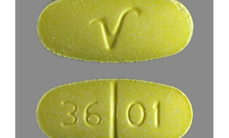 What Are V 36 01 Yellow Pills