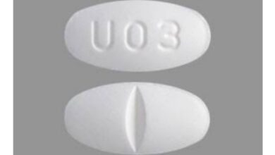 What Pill Has U03 On It