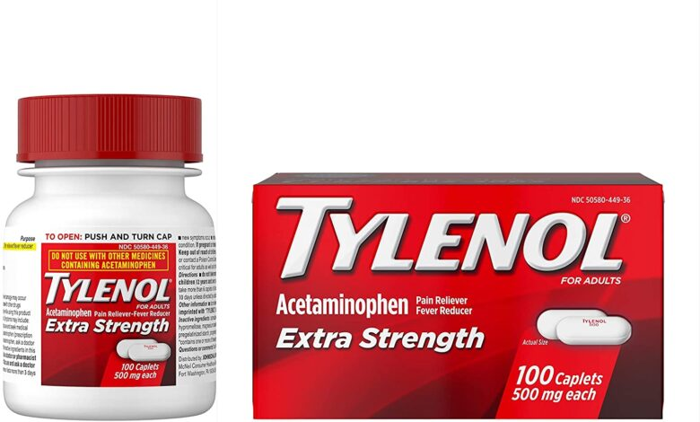 What is the Active Ingredient in Tylenol