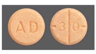 Fake AD 30 Orange Pill