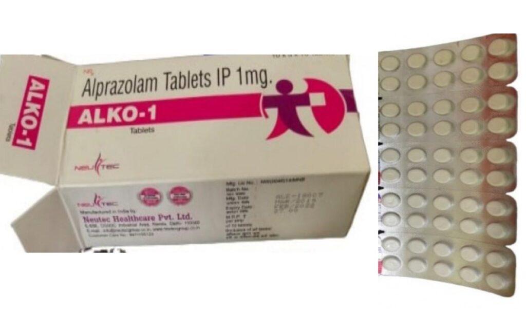 ALKO 1 mg tablets
