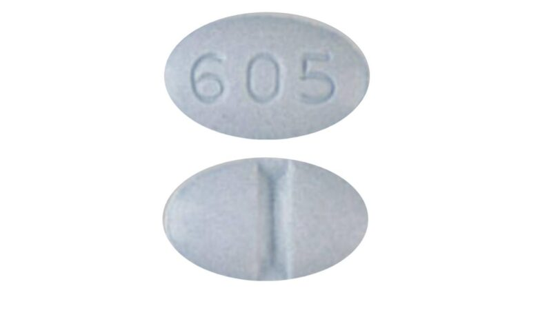 Blue 605 Pill