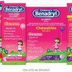 Children and Infant Benadryl (Diphenhydramine) Dosing Chart