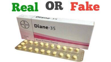 Fake Diane Pill