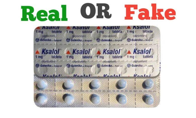 Fake Ksalol 1mg