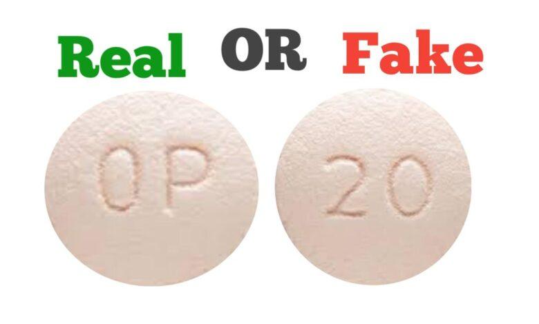 Fake OP 20 Pill