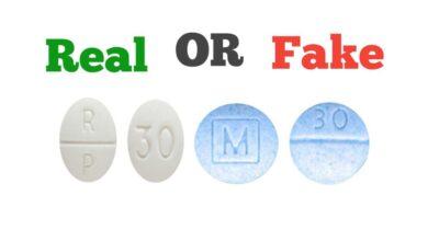 How to Spot Fake PERC 30 Pills
