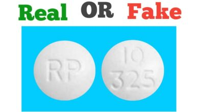 How to Spot Fake RP 10 325 Pills