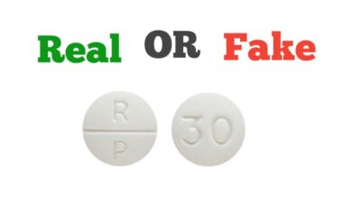 How to Spot Fake RP 30 Pills
