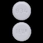 Teva 834 Pill