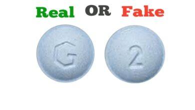 Fake Blue G 2 Xanax Pill