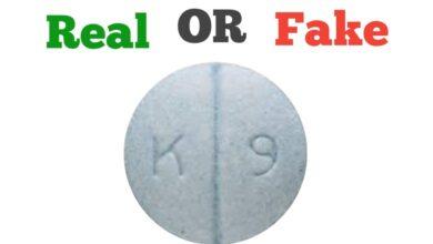 Fake K 9 Blue Pill