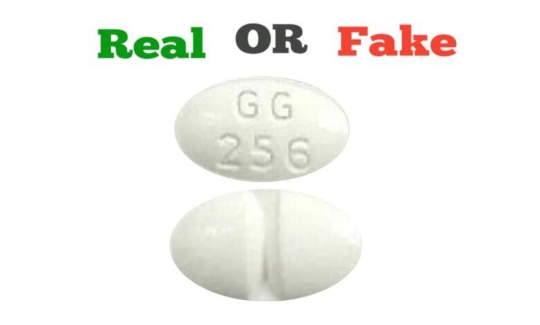 Fake White G 3721 Xanax Pill