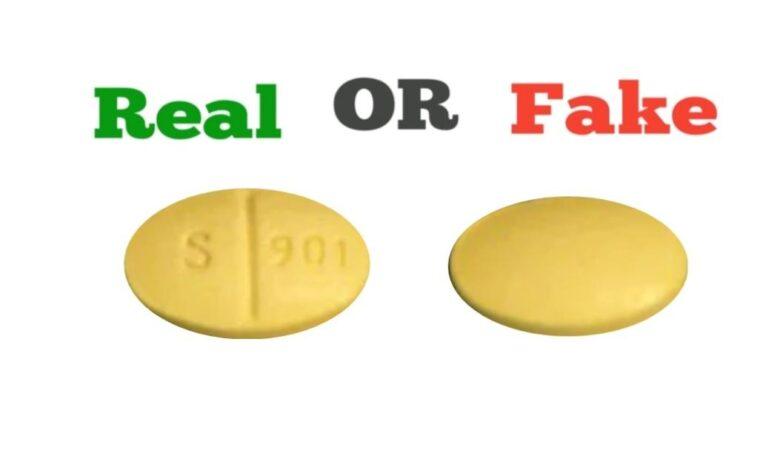 Fake Yellow G 3721 Xanax Pill