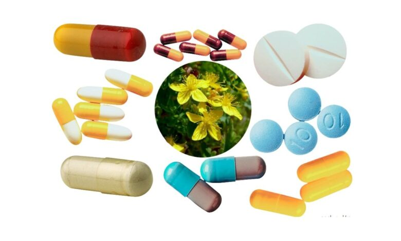 List of Drugs That Can Interact With St. John's Wort