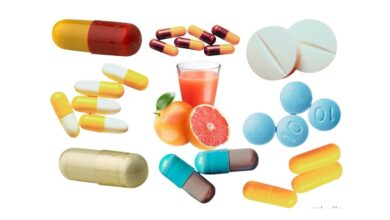 List of Drugs that Can Interact With Grapefruit Juice