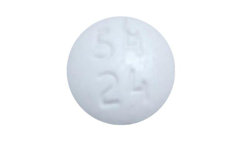 Round White 54 24 Pill