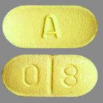 Yellow A 80 Pill