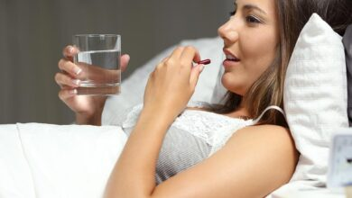 why take red yeast rice at night