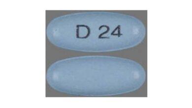 Blue D 24 Pills