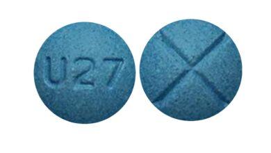 Blue U27 Pill