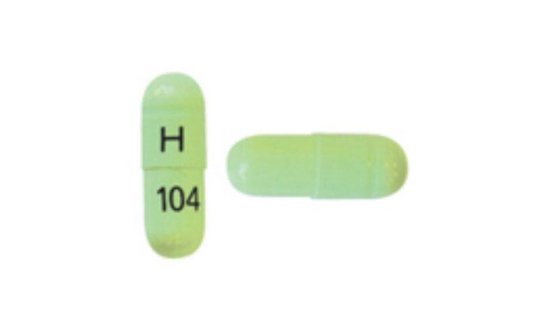 Green H 104 Pill