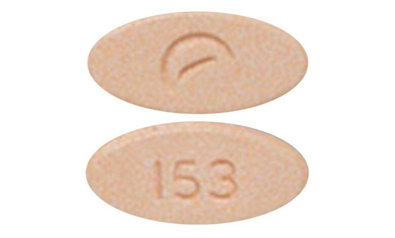 Orange 153 Pill