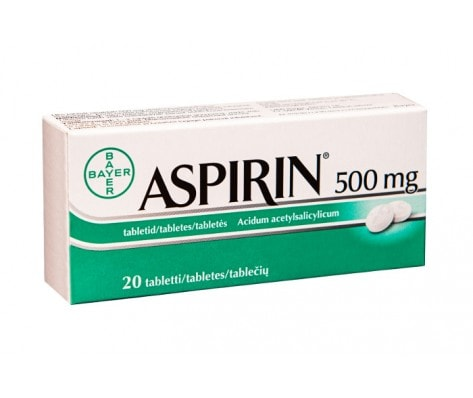 What Is Another Name For Aspirin
