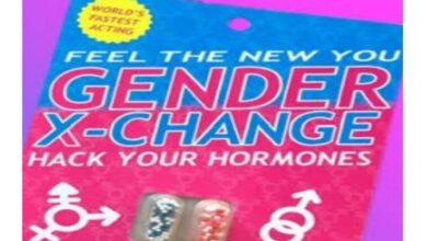 x change pill